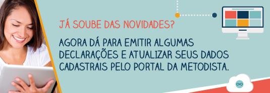 Confira os novos serviços oferecidos pelo Portal do Aluno