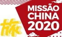 Inscrições para a Missão China 2020 começam no dia 20/9
