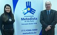 Diretora de universidade colombiana visita a Metodista e planeja intercâmbios