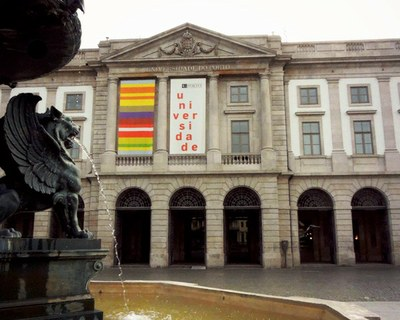 Universidade do Porto, onde Natalia passará o semestre. Foto: Arquivo