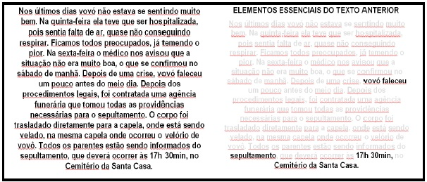 Elementos Essenciais do Texto