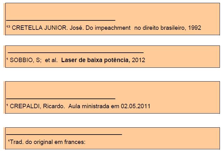 Exemplo de Nota de Rodapé