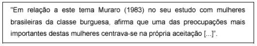 Omissão de Parte do Texto no final da citação