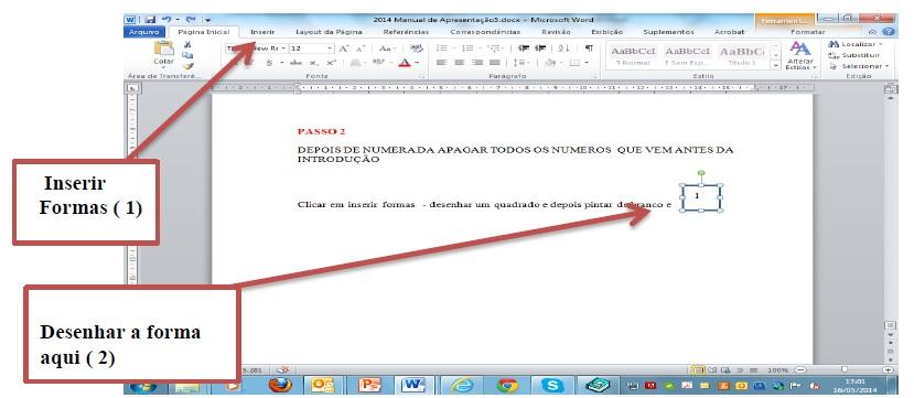 Roteiro para colocar a página a partir da Introdução 2