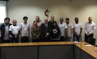 Representantes da Metodista apresentam projeto para reitor