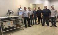 Alunos do último ano do curso criaram máquina CNC