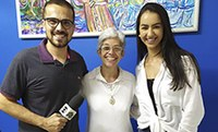 Polo S. José dos Campos explica à TV Globo sobre as vantagens da EAD