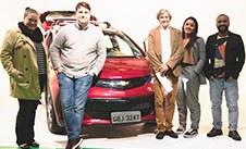 Alunos de PP farão campanha para o 1º carro elétrico da GM