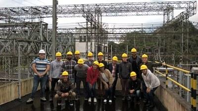 Estudantes conhecem Usina Hidroelétrica Henry Borden e ampliam conhecimento