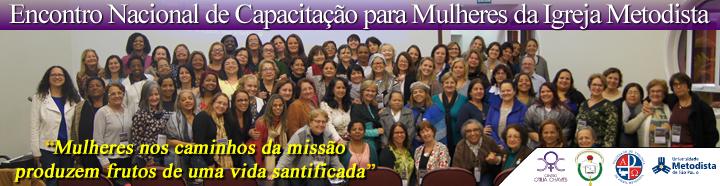 BANNER - Encontro Nacional de Capacitação para Mulheres da Igreja Metodista 2016