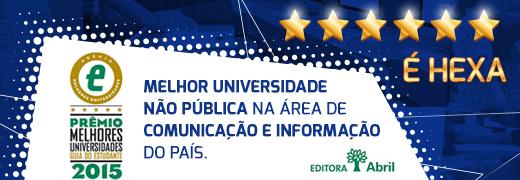 Banner Melhor faculdade de comunicacao 2015