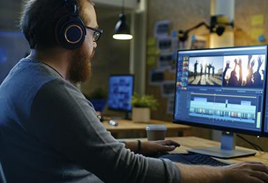 Produção audiovisual para TV e internet