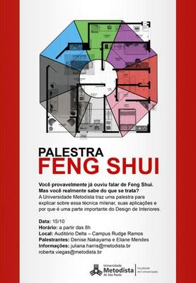 Curso de design de interiores promove palestra sobre feng for Curso de design de interiores no exterior