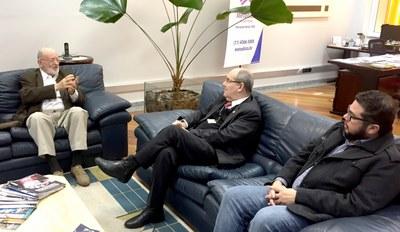 Reunião com presidente da ABED