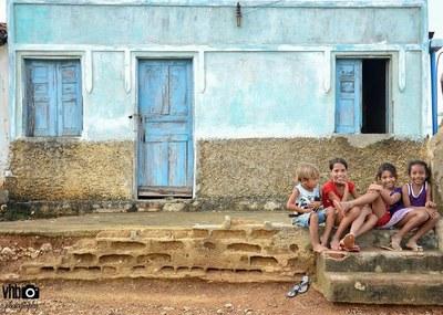 Crianças atendidas pelo Projeto Canudos. Foto: Victor Bigoli