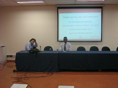 Prof. Emanuele e Prof. Joshua