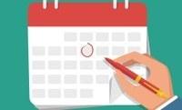 Calendário de fim de ano da FAPESP
