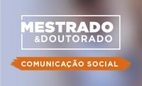 Inscreva-se em mestrado e doutorado em Comunicação Social até dia 8 de junho