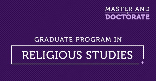 GRADUATE PROGRAM IN RELIGIOUS STUDIES