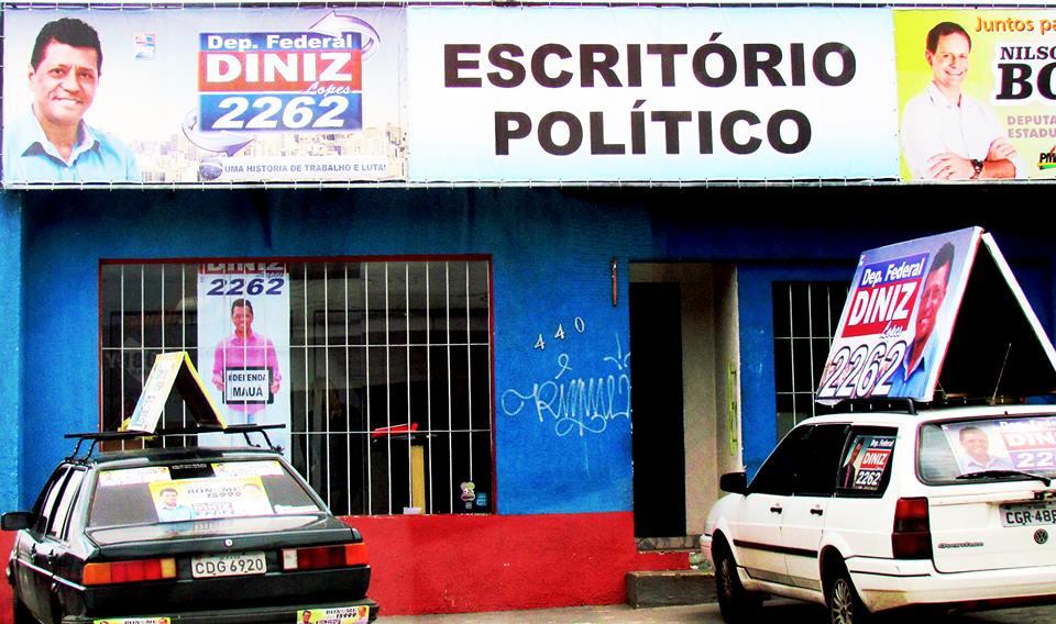 Mesmo com 3,5 milhões gastos em campanha, Diniz Lopes, não foi eleito com apenas 13.716 votos
