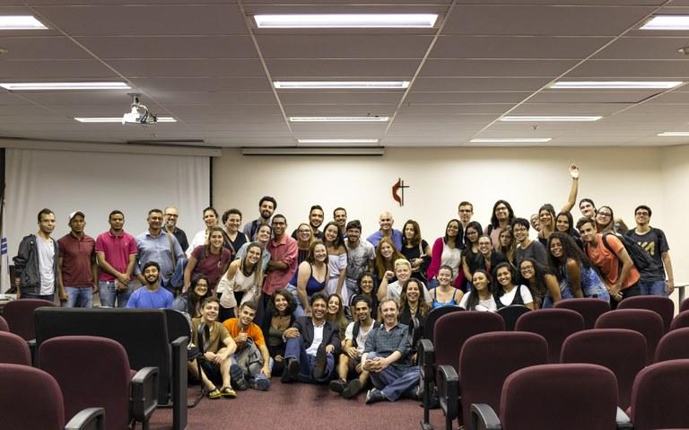 Primeiro encontro de 2019 do Grupo de Pesquisa de Jornalismo Humanitário e Media Interventions - Foto: Wagner Ribeiro