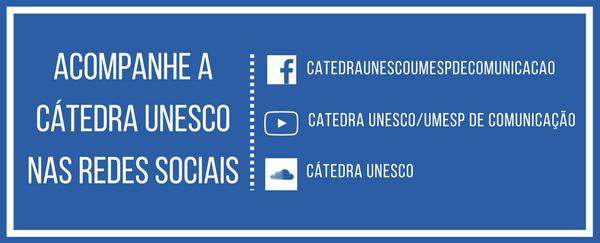 Acompanhe a Cátedra nas redes sociais